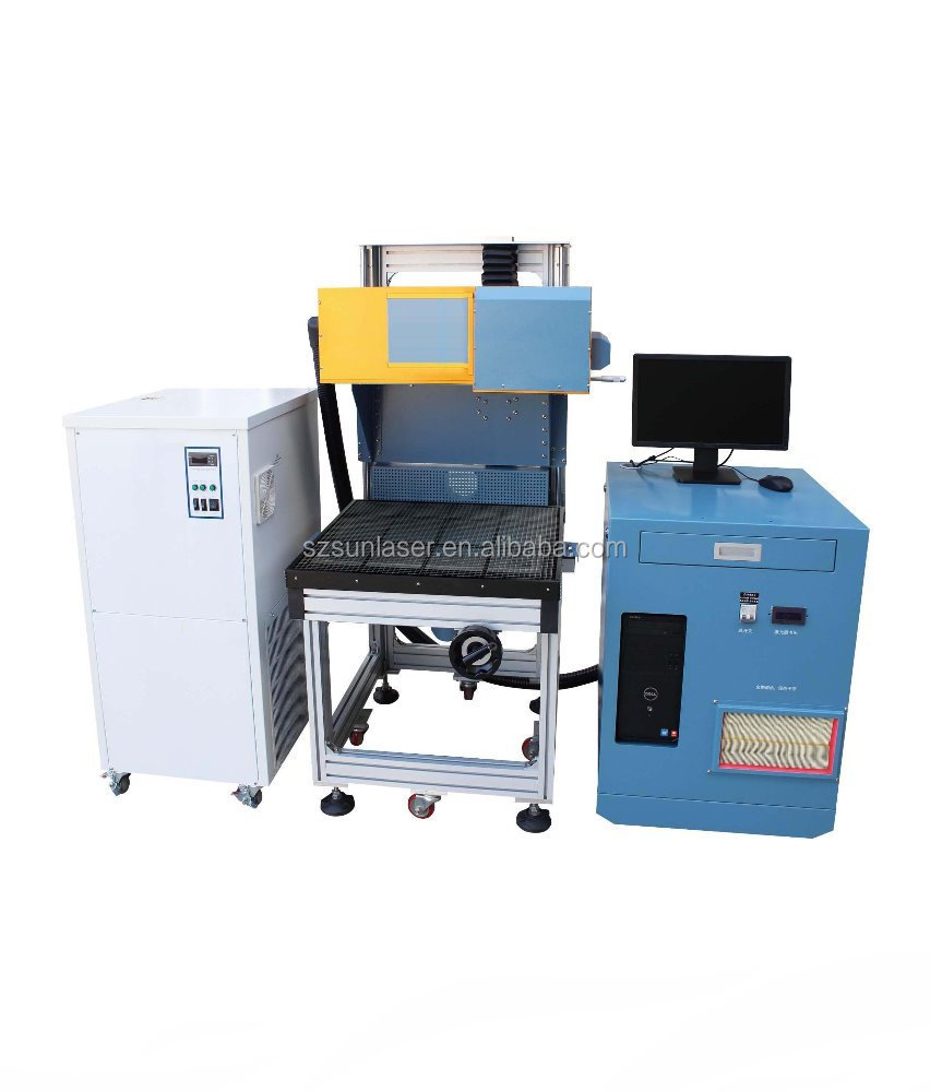 Jean cutting machine laser printing and cutting