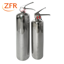 Portable ABCE stainless steel dry powder fire fighting equipment extinguisher fire