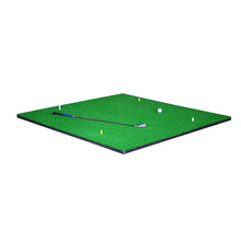 high quality custom golf training 3D range swing mats