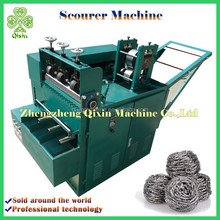 high quality automatic stainless steel scourer making machine
