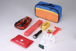 best quality portable emergency tool kits or trianglr bag and car road accident fist aid kits
