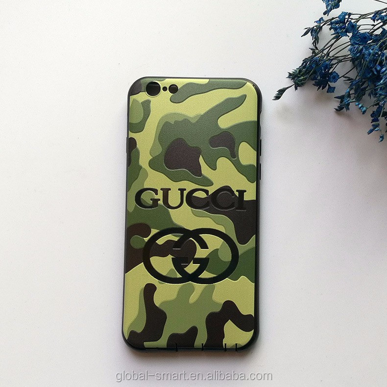 New Designer Camouflage Printed Waterproof Shockproof Dirtproof Cover Phone Case for iPhone 7plus