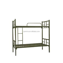 High quality metal cheap strong school adult bunk bed small size