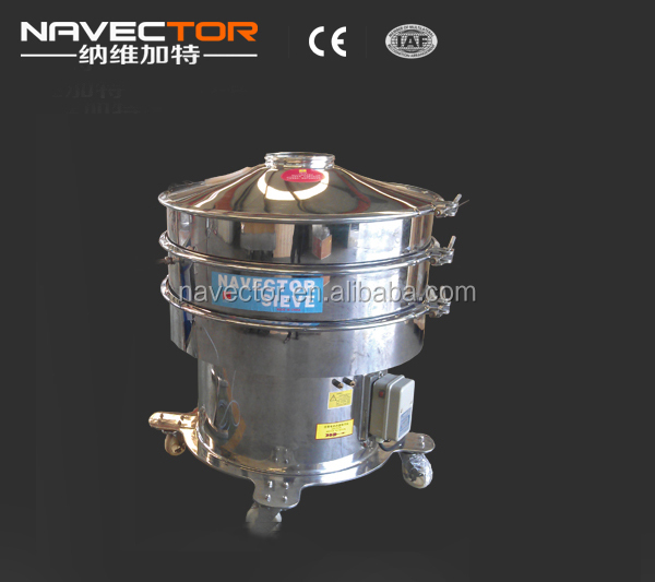 carbon steel cocoa seeds automatic sifter machine