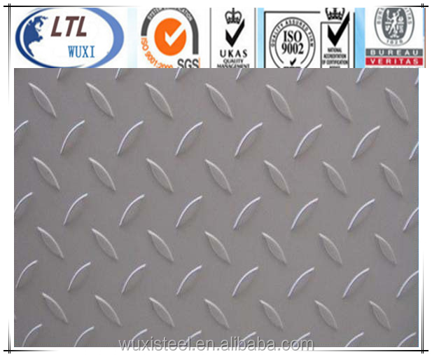 HOT SALE!!! factory price aisi 304 stainless steel chequer plate