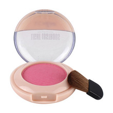 582003 LCHEAR Natural Mineral Ingredient Powder Blush Palette Compact Wholesale Makeup Blush with Mirror and Brush