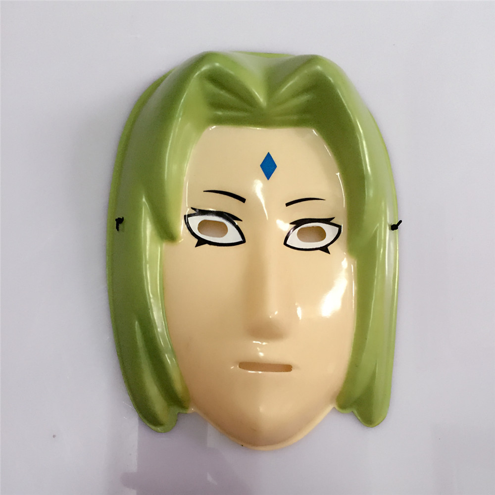 PVC material for the anime TV Ninja mask cosplay mask