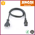 Italy C13 Power Cords (IMQ/CE approval) 2.0 METERS