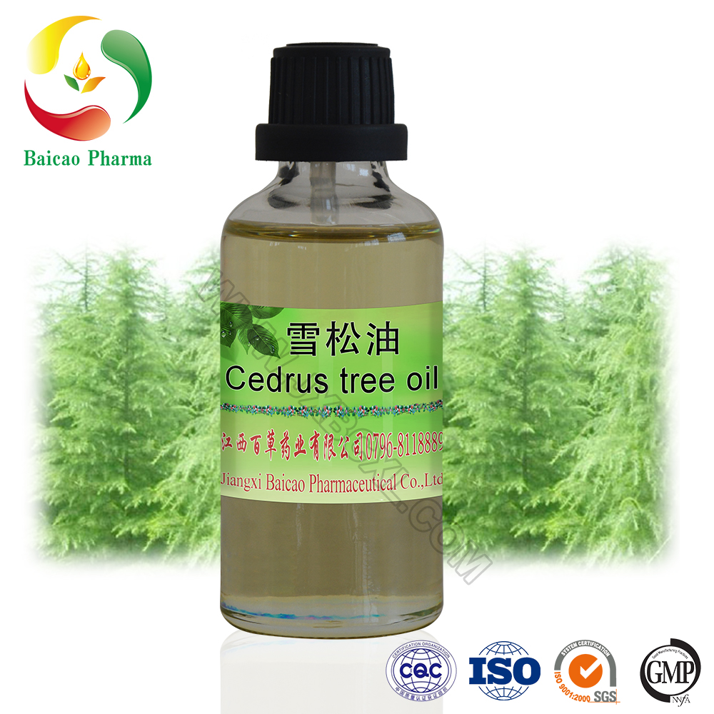 100% Pure Natural Cedar Leaf Oil Cypress Oil Cedrus Oil
