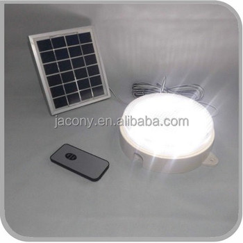 solar indoor night light with remote Controller (HK-150B)