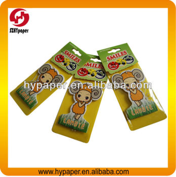 high quality promotional car air freshener
