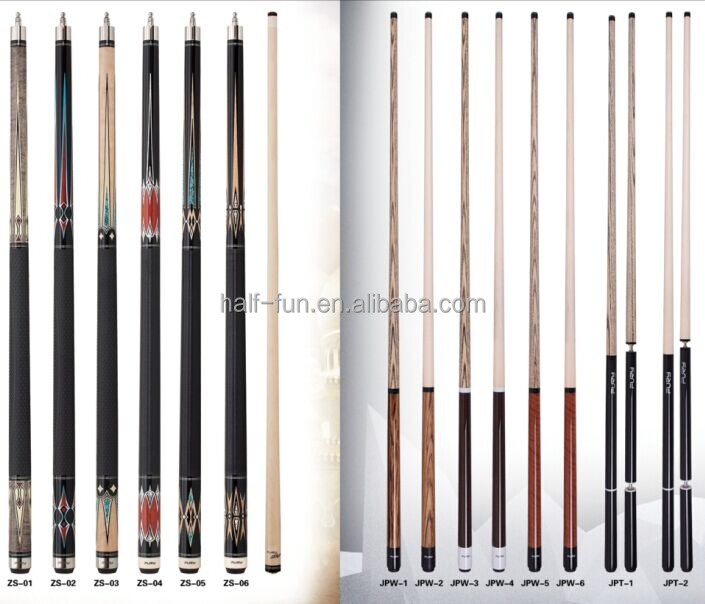 Top Quality 57'' Maple Shaft Billiards Pool Cue
