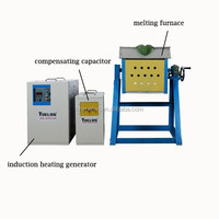 YUELON small gold smelting equipment