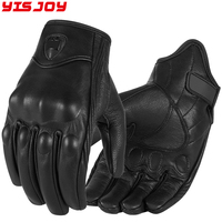 wholesale cheap motorcycle riding gloves leather motorbike outdoor safety gloves