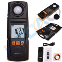 Digital LCD Lumen 200,000 Lux Light Meter Photometer Lux meter