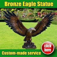 Popular Design American Eagle Wall Sculpture with Low Price