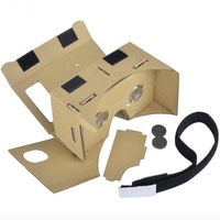 High Quality DIY Cheap Cardboard 3D Glasses VR Google Cardboard