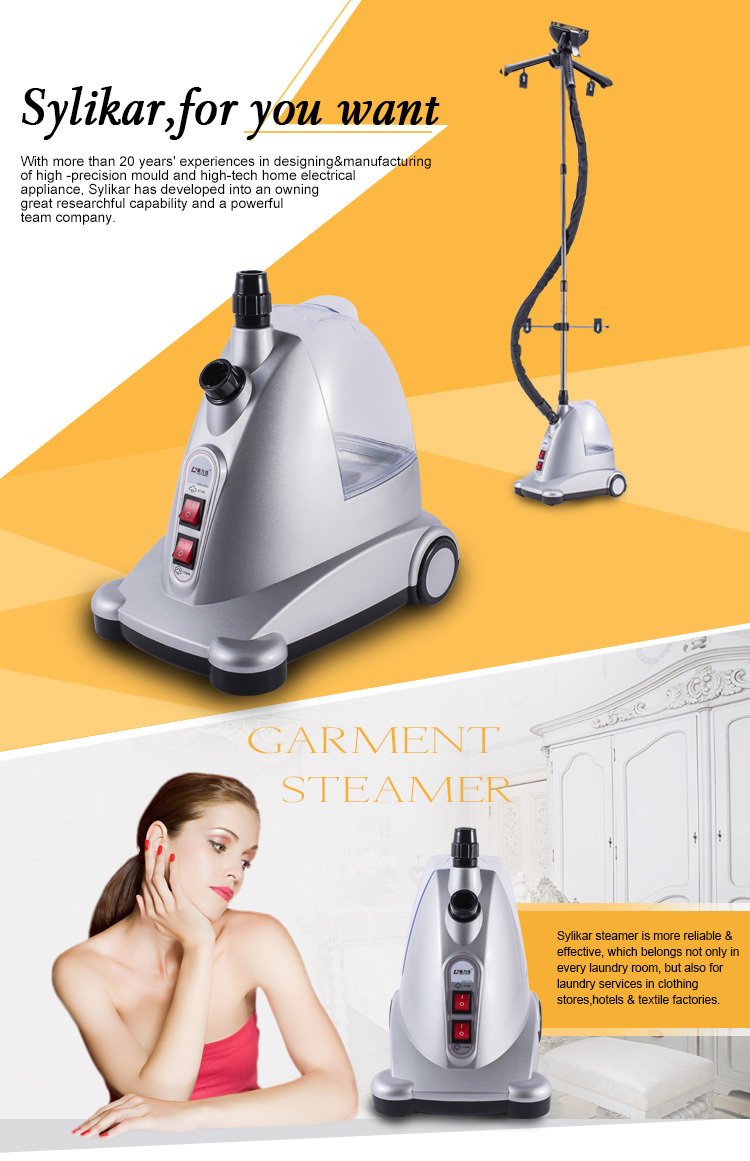1750w professional electric vertical steam irons
