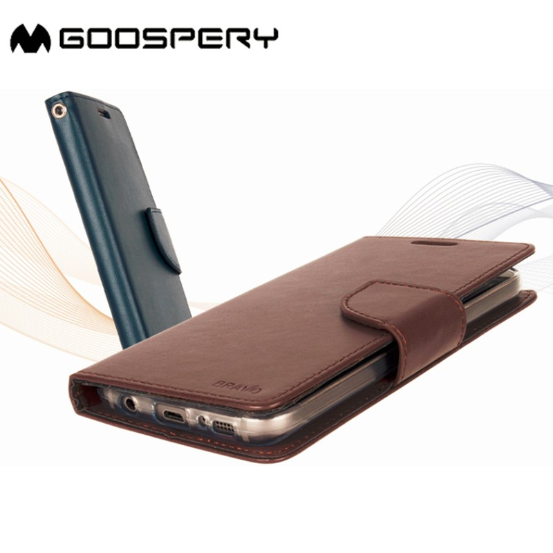 Goospery magnetic flip leather phone case cell phone cover for mobile phone