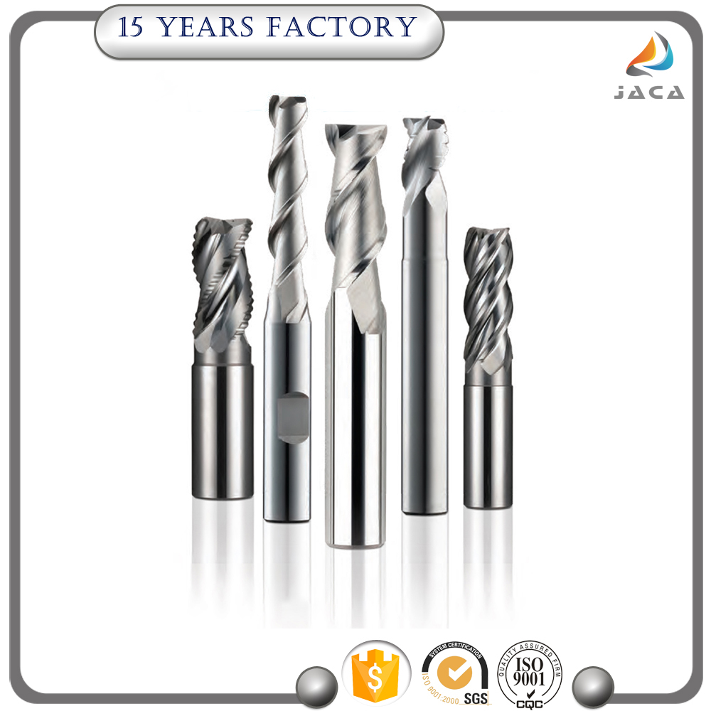 Professional round over end mill with certificate