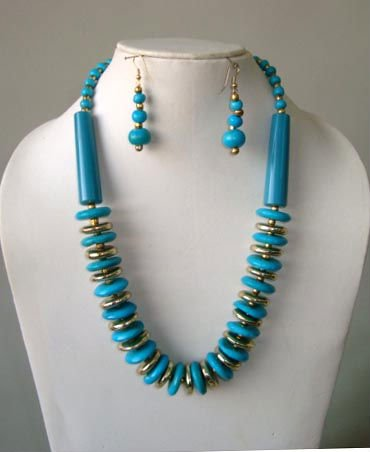Fashion Imitation jewelry - Necklace with Earings
