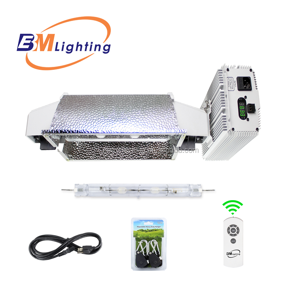 hot 1000w HPS ballast 630W cmh double ended grow light with DE bulb and reflector