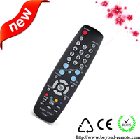 universal led tv remote control with famous brand rohs accepted