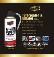 Hot sell,Tyre Repair Spray,Tyre Sealer And Inflator