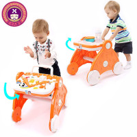 Musical Baby Walker Sit To Stand Activity Learning Walker Assistant Push Toy