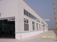 Q235/345B Construction design steel structure warehouse