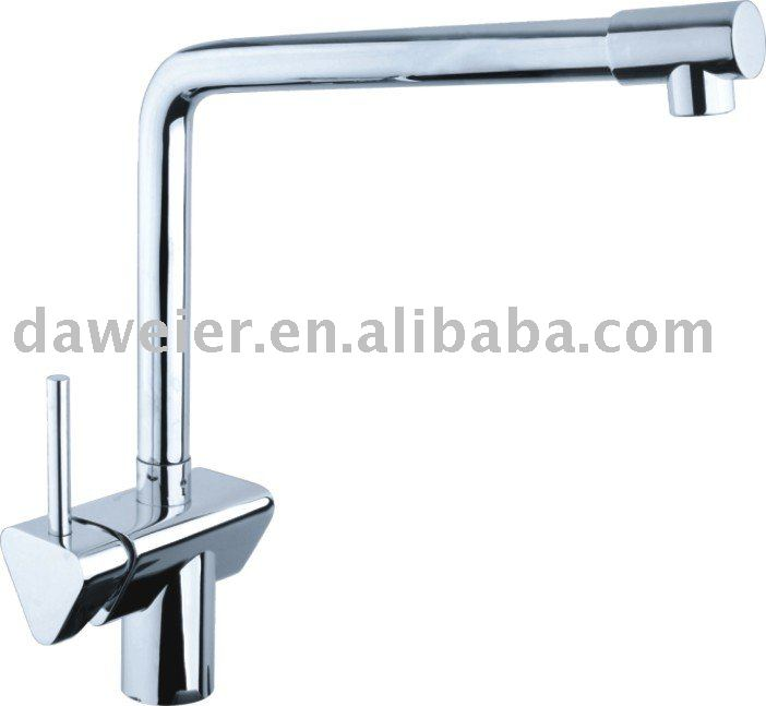 Water Conservation/Single lever Chrome Kitchen Faucet M-182