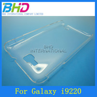 Highly Transparency Clear Crystal Back Hard Cover Case for Samsung Galaxy Note i9220