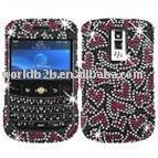 inlay diamond Crystal case for BlackBerry Curve 8900