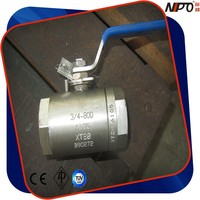 Floating Type Forged Steel A105 Small Size Ball Valve