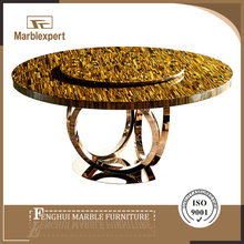 Latest designs of italian marble dining table seats 12