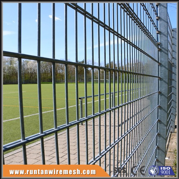 perimeter 868 double horizon wire welded mesh fence