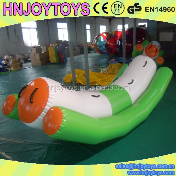 made in china inflatable water park equipment sport games ,Inflatable Rock It Totter Water Toy