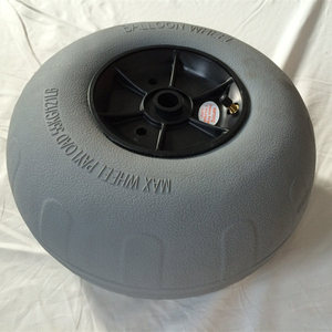 Pneumatic Tyre balloon wheels for beach cart 12'' wheel