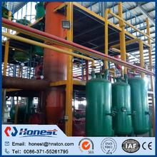 Hot selling waste tire oil recycling plant with low price