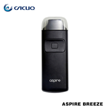 Aspire 2017 mini e-cigarette 2ml aspire breeze kit for wholesale