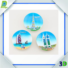 Hot Custom Cheap Different Style Refrigerator Plastic Fridge Magnet Wholesale Promotional Round Shape Whiteboard Magnets