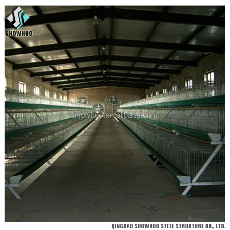 Low cost steel sheds for poultry farm chicken house building for sale