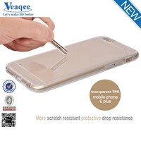 Veaqee super hot Factory Price 0.3mm Ultra Thin Slim TPU Mobile Phone Case For iPhone 6 4.7""
