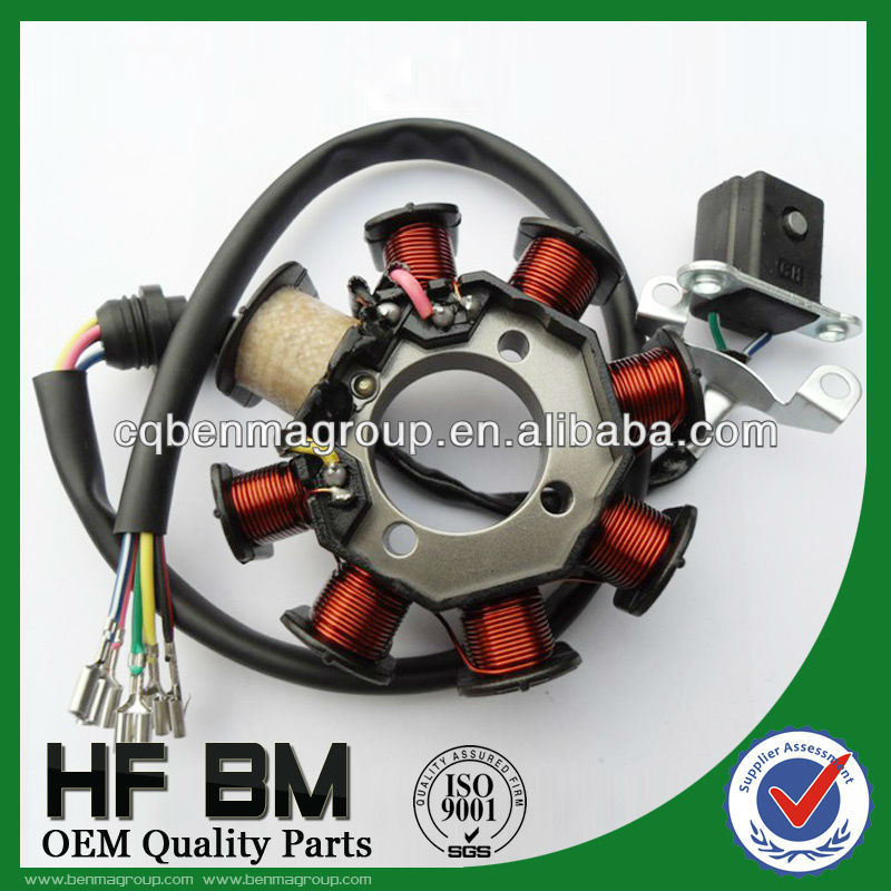 CG125D-8 magneto stator for motorcycle coil assemble