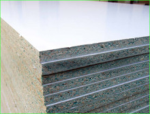 15mm 18mm Moisture Resistant Green Core Melamine Faced Particle Board