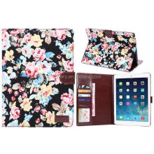 Floral Wallet Cover Sleeve for iPad Air 2