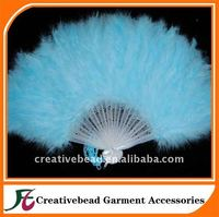 fashion feather hand fans