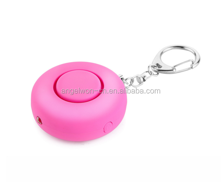 Personal emergency alarm 130db personal anti rape alarm panic alarm with spotlight for ladies elderly kids night shift workers