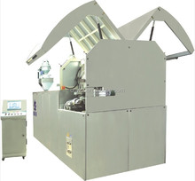 full automatic rotation compression molding machine for cap folding,slitting,lining and printing