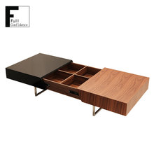 MDF Expandable Coffee Table Extended to 1720mm